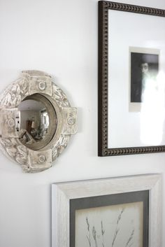 Perfect small mirror from @HomeGoods.  I scooped it up to add to my neutral gallery wall.  #HomeGoods #happybydesign #sponsored