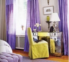 Complementary: Purple and yellow