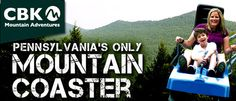 The only Mountain Coaster in Pennsylvania! #IAmAdventure #MountainCoaster #PoconoMtns