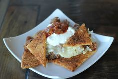 """Tortilla Chips via  - Sugar-Free & Grain-Free """"Healthified"""" by: @Maria Canavello Mrasek Emmerich"""