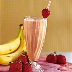Yogurt-Fruit Smoothie - Healthy Milk Shakes and Smoothies - Health.com