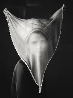munich, veils, portrait art, art photography, mask