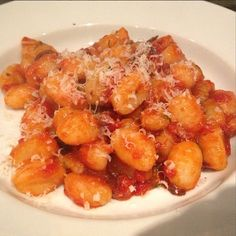 Homemade #Gnocchi pomodoro for dinner. #cookingwithzac