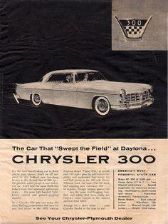 The original Chrysler 300 from 1955