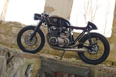 Poland is not the first place you'd expect to find a top custom motorcycle builder. But the work of Eastern Spirit Garage is first class, as this immaculate Honda CB550 cafe racer shows.