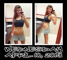 Day 10 of my 30 Day Ab Challenge. Working out at work helps keep me on track with this fitness challenge! Woohoo!