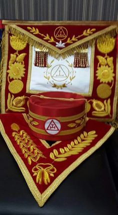 Royal Arch regalia
