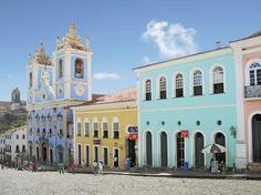 favorit place, salvador de, bahia pelourinho, south america, bahia brasilunesco, travel, beauti placesbuild, bahía brazil, de bahiapelourinho