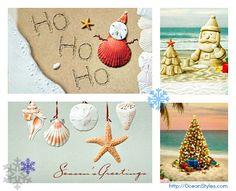 @Ocean Styles xmas cards!!!!  #xmas #coastalChristmas #cards #sale