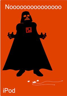 iPod Spoof via Jostin Asuncion #iPod #Darth_Vader #Meme
