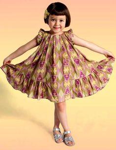 Twirly girl's dress