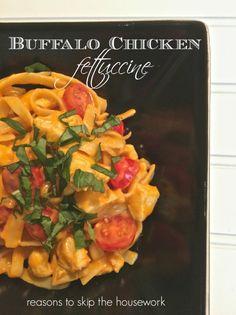 buffalo chicken fettuccine