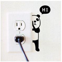 #Animal Wall Switch #Stickers