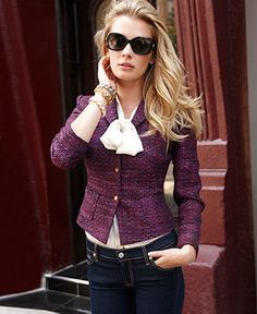 How amazing is the tweed look?! #macysfallstyle