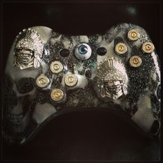 My Custom Evil Xbox Controller