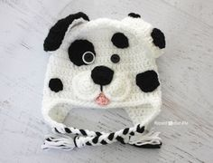 Repeat Crafter Me: Crochet Dalmatian Dog Pattern