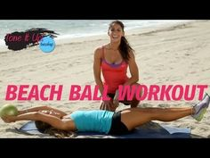 Beach Ball Workout with printable!