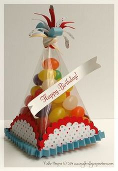 parti pet, idea, gift, cone die, birthday hats