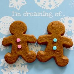 Thick and Chewy Gingerbread Men