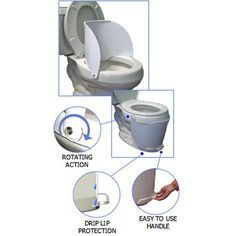 Flippee - The Toilet Shield for Potty Training Boys -I NEED THIS!!!