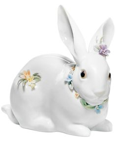 Lladro Collectible Figurine - Bunny with Flowers #Easter #giftideas #presents