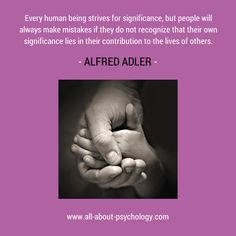 Click on image or see following link for free & comprehensive Alfred Adler information, resources and full-text articles. www.all-about-psychology.com/alfred-adler.html #AlfredAdler #psychology