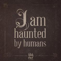haunt, books, death, book theif, the book thief, movi, thebookthief, quot, markus zusak