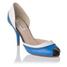 Arlene Colour Block Sandal £195 by @L.K.Bennett