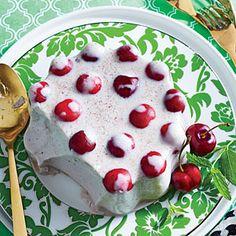 Spiced Coconut-Cherry Mold | MyRecipes.com