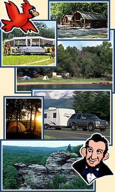 Illinois: Campgrounds | Camping | RV Parks Directory