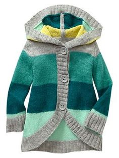 Hooded cocoon sweater | Gap