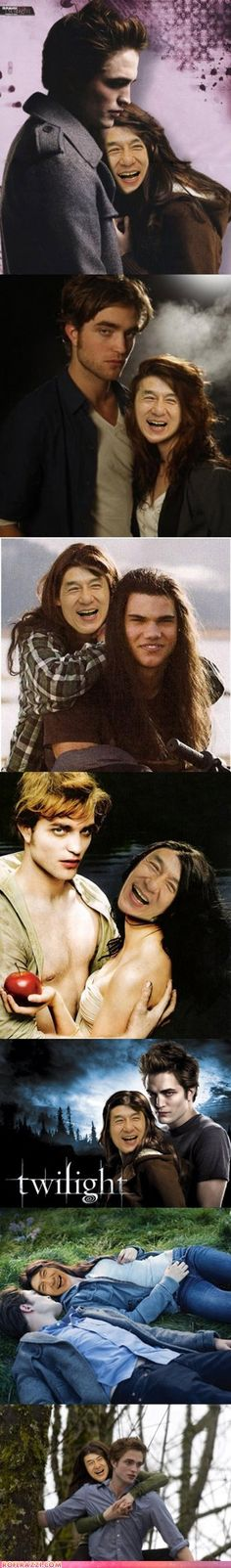 Twilight starring Jackie Chan, much better