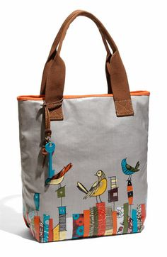 Can't stop buying these Fossil Key-Per Printed Coated Canvas Totes