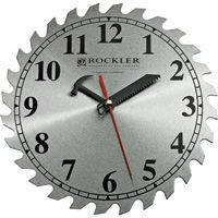 10'' Saw Blade Shop Clock $16.99. Fun idea for the garage.