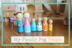 My Family Peg People