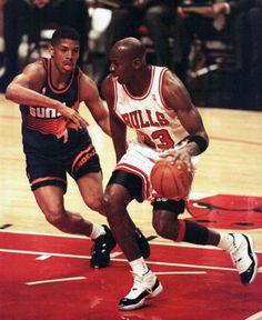 MJ vs Kevin Johnson