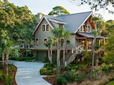 Take a first look at HGTV Dream Home 2013 on Kiawah Island (near Charleston, S.C.) http://www.hgtv.com/dream-home/hgtv-dream-home-2013-front-yard-pictures/pictures/index.html?soc=pinterest  Nice dream house!