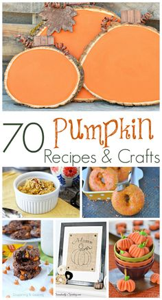 70 Pumpkin Recipes &
