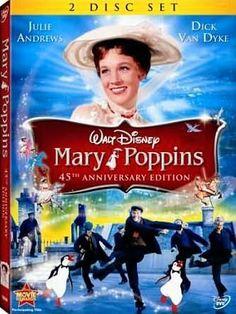 Mary Poppins  - #2 on www.mommybearmedia.com