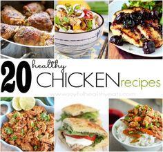 diet digest, chicken dinners, healthi chicken, sesame chicken, lemon chicken, healthi food, healthy chicken recipes, 20 healthi, recipe chicken