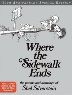 childhood books, remember this, childhood memories, favorit book, great books, children books, shel silverstein, sidewalk, kid