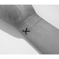 Scissor tattoo