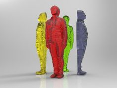 Whats Hot in Japan? FabCafe Lets You 3D-Print a Gummy Replica of Yourself via design trend #Candy #3D_Printer #Body_Scan