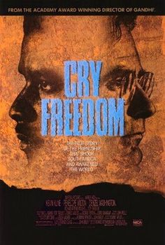 Grita libertad [Cry Freedom]. Reino Unido, 1987. Dir. Richard Attenborough. Int.: Kevin Kline, Penelope Wilton, Denzel Washington, John Hargreaves, Zakes Mokae.