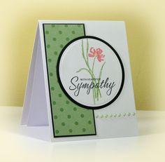 Sympathy Card card idea, sympathy cards, sympathi card, paper crafts