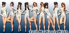 "Mod The Sims - ""Tell Me Your Wish"" Posebox"