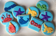 Ocean Animal Underwater Party Sugar Cookie Collection