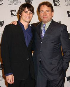 John Ritter with his son Jason Ritter