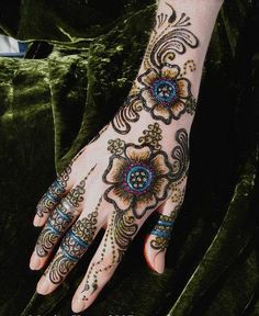 Mehndi tattoo