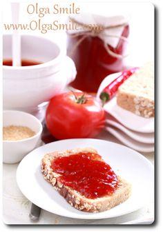dżem pomidorowy - przepis | Kulinarne przepisy Olgi Smile
